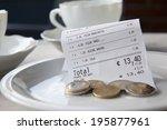 how much tip | Shutterstock . vector #195877961