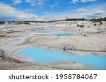 Turquoise Ponds At Norris...