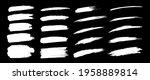 white hand drawn grunge brush... | Shutterstock .eps vector #1958889814