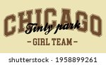 retro college varsity...   Shutterstock .eps vector #1958899261