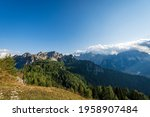 The Julian Alps Seen From The...
