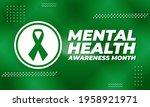 mental health awareness month ... | Shutterstock .eps vector #1958921971
