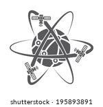 illustration of globe symbol...   Shutterstock .eps vector #195893891