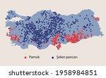 turkey economic geography map   ... | Shutterstock .eps vector #1958984851