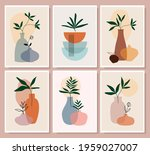 abstract decorative wall art  ...   Shutterstock .eps vector #1959027007