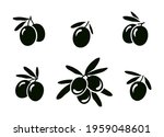 set of hand drawn isolated... | Shutterstock . vector #1959048601