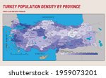 turkey economic geography map   ... | Shutterstock .eps vector #1959073201