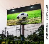 football in the field...   Shutterstock . vector #195912605