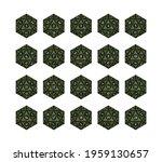 d20 dice for boardgames ... | Shutterstock .eps vector #1959130657