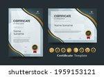 certificate of appreciation... | Shutterstock .eps vector #1959153121