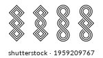loop shaped design isolated on...   Shutterstock .eps vector #1959209767