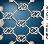 fish net pattern   Shutterstock .eps vector #195923564