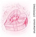 heart gift | Shutterstock .eps vector #195933461