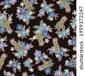 seamless aloha pattern of... | Shutterstock .eps vector #1959372247