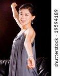 attractive asian female model...   Shutterstock . vector #19594189