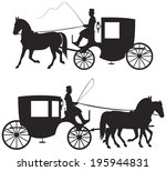 Carriage Silhouettes  19th...