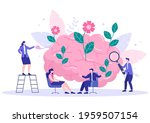 mental health due to psychology ... | Shutterstock .eps vector #1959507154