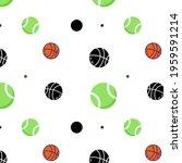 colorful ball pattern design...   Shutterstock . vector #1959591214
