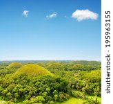 Chocolate Hills On Bohol Islan...