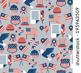 united states of america... | Shutterstock .eps vector #195963509