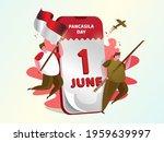 illustration of celebration 1st ... | Shutterstock .eps vector #1959639997