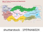 turkey economic geography map   ... | Shutterstock .eps vector #1959646024