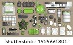 vector set. furniture for the...   Shutterstock .eps vector #1959661801