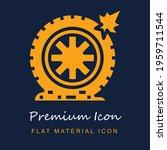 flat tire premium material ui...