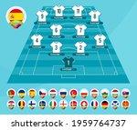 football 2020 team formation.... | Shutterstock .eps vector #1959764737