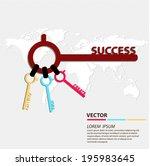 success business concept vector ...