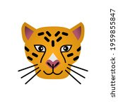 vector illustration of tiger... | Shutterstock .eps vector #1959855847