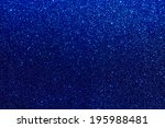 Blue Glitter Shiny Background
