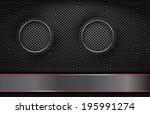 the black background | Shutterstock .eps vector #195991274