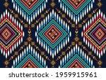 ikat geometric folklore...   Shutterstock .eps vector #1959915961