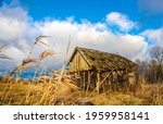 abandoned wooden house in a... | Shutterstock . vector #1959958141