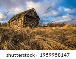 abandoned wooden house in a... | Shutterstock . vector #1959958147