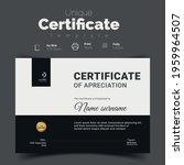 certificate template. design... | Shutterstock .eps vector #1959964507