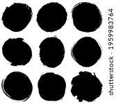 grungy  grunge textured circle  ... | Shutterstock .eps vector #1959983764