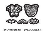 set of vintage luxury monogram... | Shutterstock .eps vector #1960005664