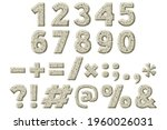 numbers  punctuation marks....   Shutterstock .eps vector #1960026031