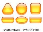 yellow glass gel web buttons...