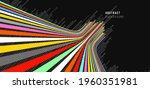 sense of perspective arrows ... | Shutterstock .eps vector #1960351981