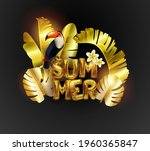 sale. summer sale of tropical... | Shutterstock .eps vector #1960365847
