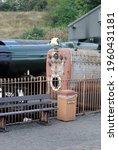 Vintage Steam Locomotive And...