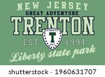 retro college varsity font... | Shutterstock .eps vector #1960631707