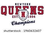 retro college varsity font... | Shutterstock .eps vector #1960632607