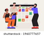 effective time management. team ...   Shutterstock .eps vector #1960777657