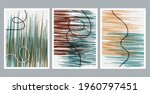 modern abstract painting.... | Shutterstock .eps vector #1960797451