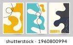 60s art canvas. set of...   Shutterstock .eps vector #1960800994