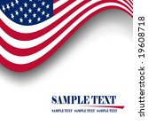 american flag background | Shutterstock .eps vector #19608718